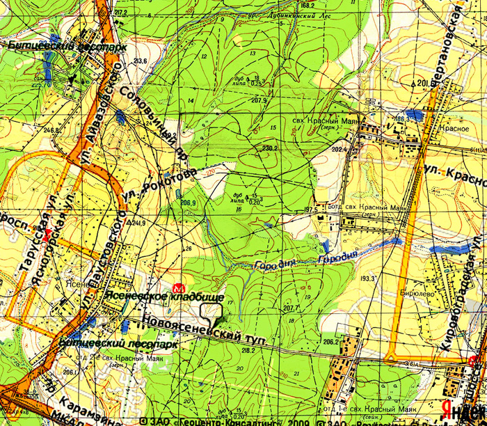 Карта 1964–65 (источник